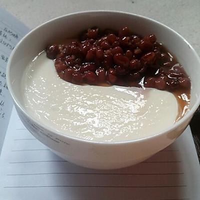 红豆双皮奶