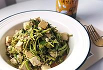 #春日时令,美味尝鲜#香椿拌豆腐的做法