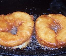 快手早餐:湖北人过早小吃甜油墩儿/中式炸甜油条的做法