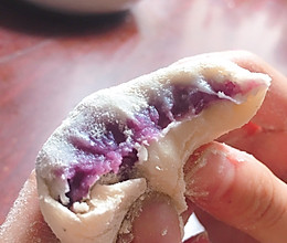 紫薯山药雪媚娘的做法