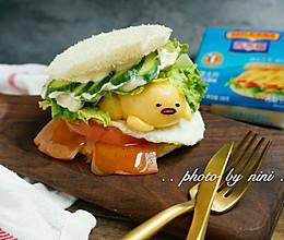 懒蛋蛋三明治#百家福食尚达人#的做法