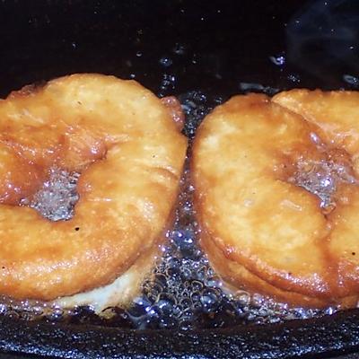 快手早餐:湖北人过早小吃甜油墩儿/中式炸甜油条