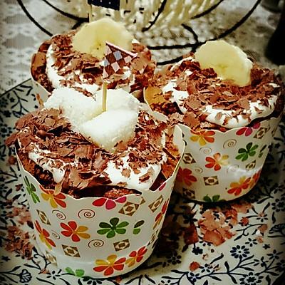 黑森林杯子蛋糕
