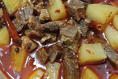 麻辣牛肉萝卜煲