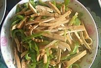 豆腐干炒辣椒的做法