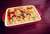 虾仁豆腐炖蛋的做法