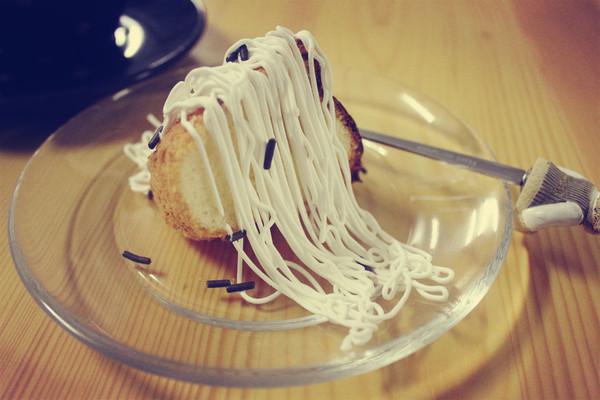 柠檬蜂蜜戚风蛋糕O(∩_∩)O的做法