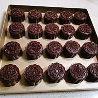 巧克力蛋黄月饼的做法图解17