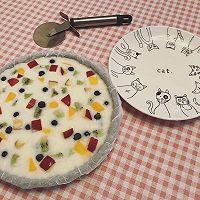 酸奶水果薄脆/炒酸奶的做法图解8