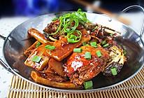 螃蟹年糕--冬季暖身的做法
