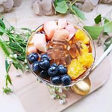 水果红糖冰粉粉#炎夏消暑就吃「它」#