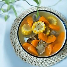 筒骨玉米萝卜汤