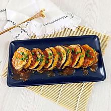蒜香土豆泥茄盒