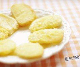 灿烂如阳光的【黄金蛋奶馒头片】宝宝辅食营养早餐的做法