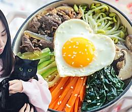 彩虹石锅拌饭「厨娘物语」的做法