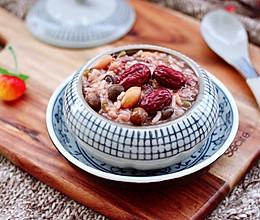 #一道菜表白豆果美食#红糖腊八粥的做法