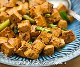少油好吃的下饭菜——香辣酱汁烩豆腐的做法