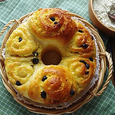 果干椰蓉面包卷 直接法