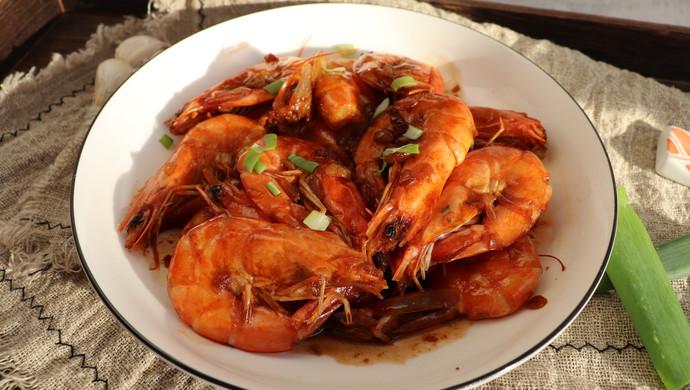 超美味的油焖大虾