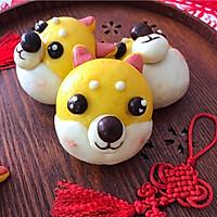 #年味十足的中式面点#柴犬豆沙包的做法图解15
