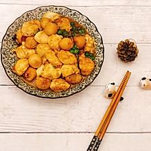 杂锦红烧日本豆腐