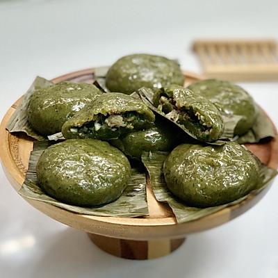 【艾】咸艾粿艾糍青團