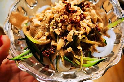 清真凉菜:豌豆凉粉