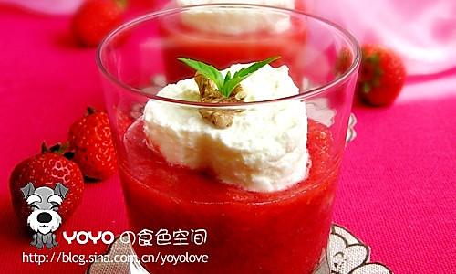 草莓布丁的做法