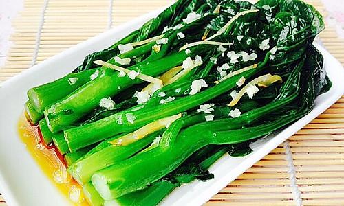 粤式经典--白灼菜心的做法