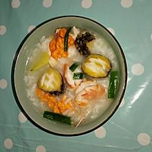 什锦海鲜粥
