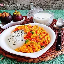 #春季减肥,边吃边瘦#西红柿鸡蛋盖饭