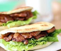 #拉歌帝尼菜谱#新蜜汁肉夹馍的做法