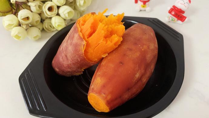 电饭煲蒸红薯