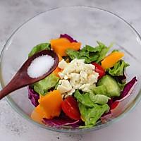 #精品菜谱挑战赛#蒜香沙拉时蔬水果的做法图解11