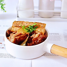 #花10分钟,做一道菜!#筒骨炖铁杆山药