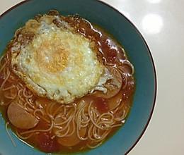 番茄面的做法