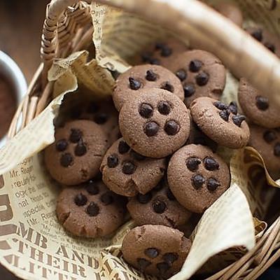 双重美味的巧克力曲奇饼