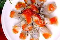 宁波红膏呛蟹的做法