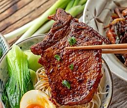 #硬核家常菜#上海葱烤大排|酥嫩下饭的做法