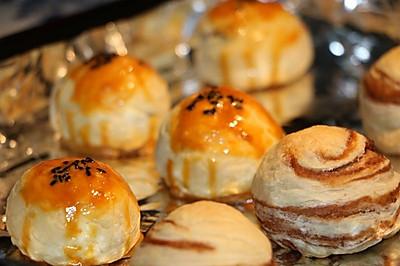 蛋黄酥超详细做法介绍( ^ω^ )含鲜鸭蛋烤制方法