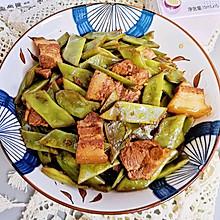 #名厨汁味,圆中秋美味#扁豆焖肉