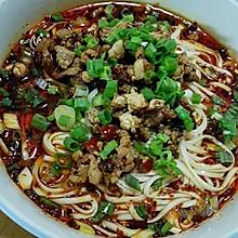 重庆小面之猪肉臊子面(米线)
