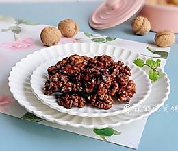 #秋天怎么吃#琥珀桃仁 甜香酥脆 秋冬季的最佳零食的做法