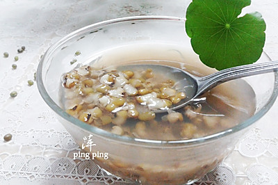 家庭绿豆汤