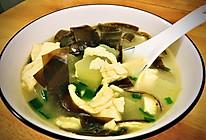 100道减肥—9道蛋丝冬瓜海带汤的做法