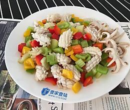 【五彩鱿鱼卷】——一道口味清爽靓丽的菜的做法