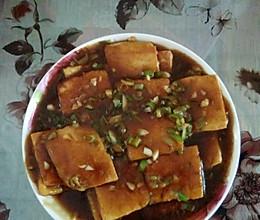 蜜汁锅贴豆腐的做法