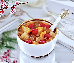 #福气年夜菜#苹果金桔银耳羹的做法