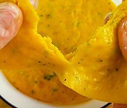 南瓜鸡蛋煎饼 10+宝宝辅食的做法