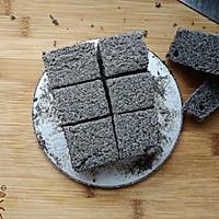 蒸黑米糯米糕#自己做更健康#的做法图解8